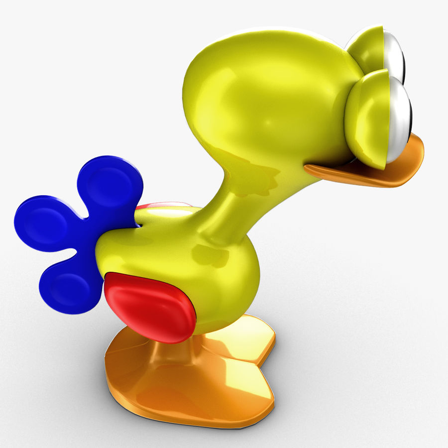 Tolo Toy Bird(1) royalty-free 3d model - Preview no. 4