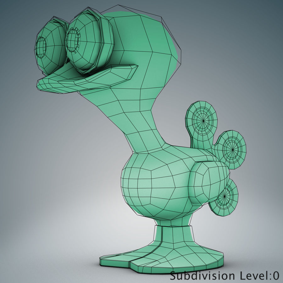 Tolo Toy Bird(1) royalty-free 3d model - Preview no. 18