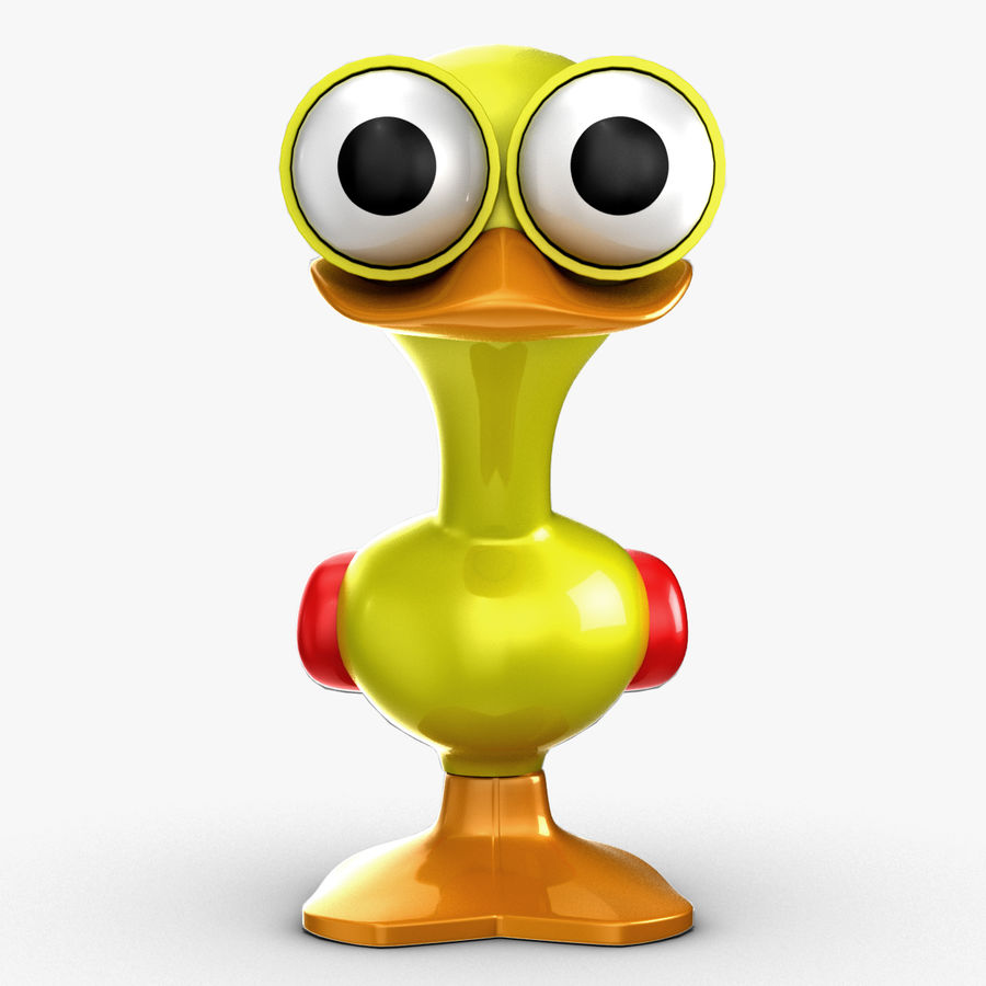 Tolo Toy Bird(1) royalty-free 3d model - Preview no. 8