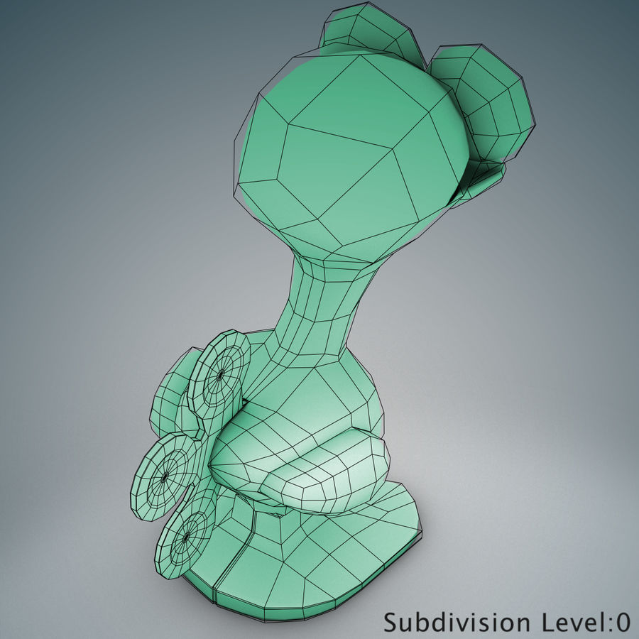 Tolo Toy Bird(1) royalty-free 3d model - Preview no. 14