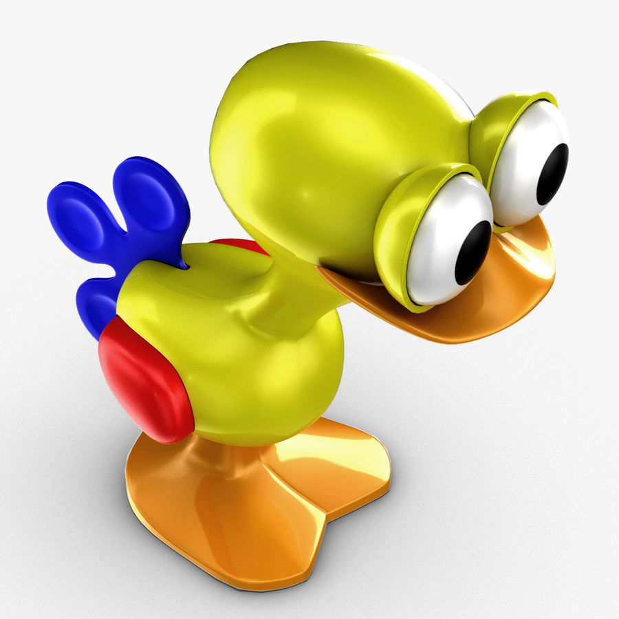 Tolo Toy Bird(1) royalty-free 3d model - Preview no. 9