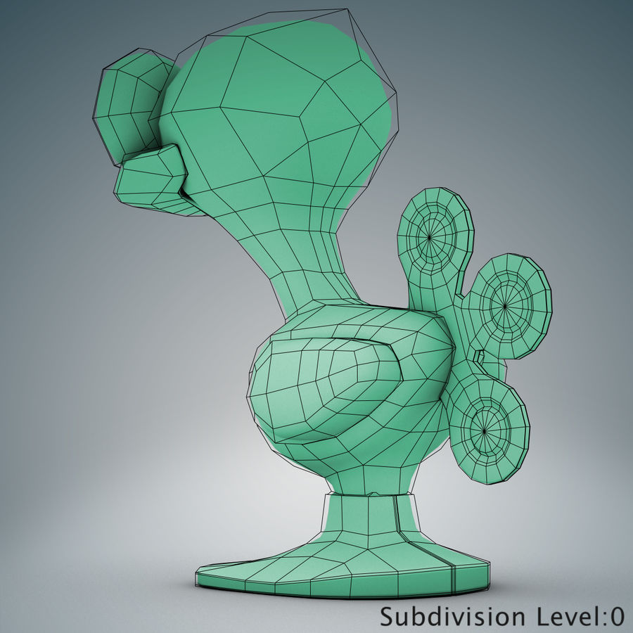 Tolo Toy Bird(1) royalty-free 3d model - Preview no. 16