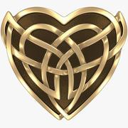 Celtic Heart (2) 3d model