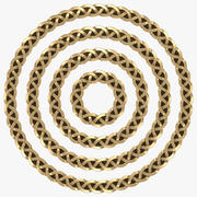Celtic Frame Circle 3d model