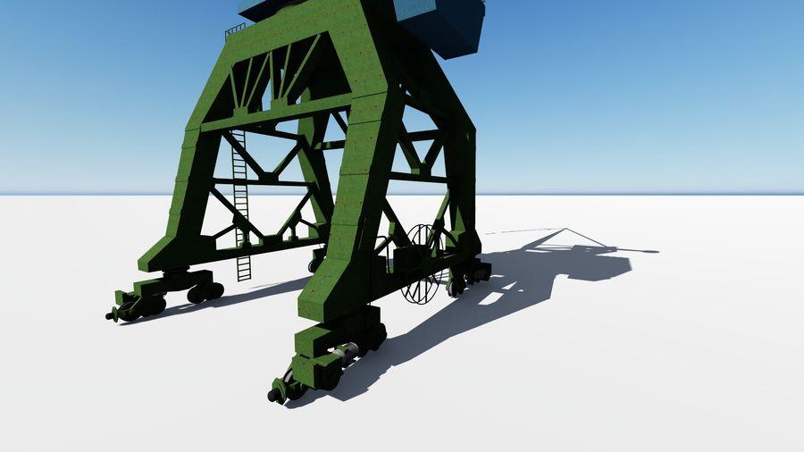 Crane Ganz royalty-free 3d model - Preview no. 5