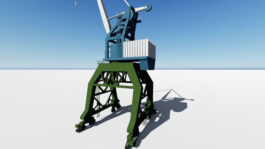 Crane Ganz royalty-free 3d model - Preview no. 4
