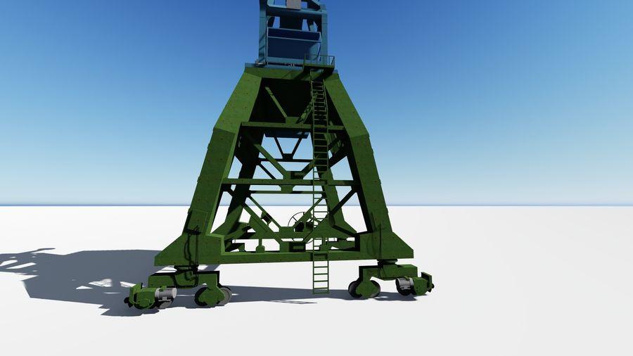Crane Ganz royalty-free 3d model - Preview no. 6