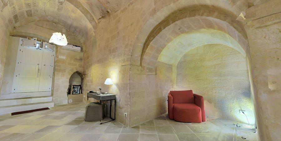 Cave Villa #2 royalty-free 3d model - Preview no. 7