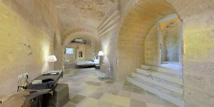 Cave Villa #2 royalty-free 3d model - Preview no. 8