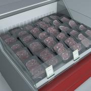 肉冷藏柜3 3d model