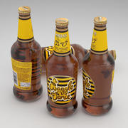 Botella de cerveza Wells Waggle Dance 500ml modelo 3d