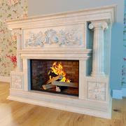 暖炉クラシック 3d model