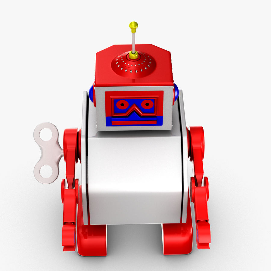 Tolo Toy Robot royalty-free 3d model - Preview no. 9