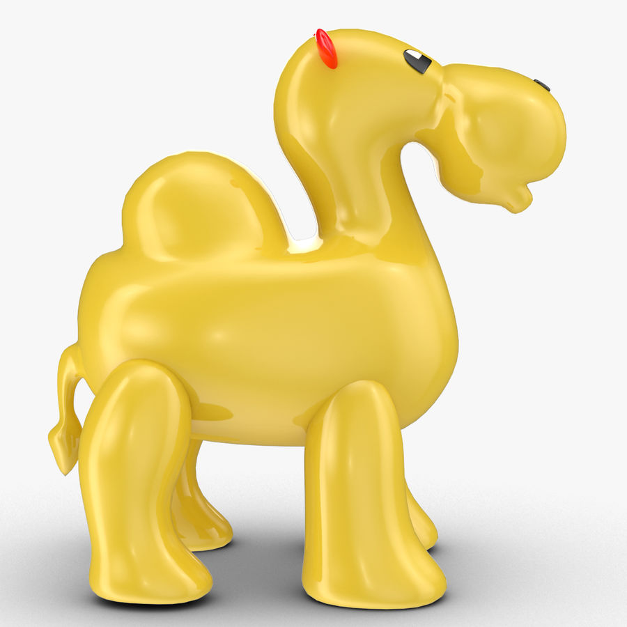 Tolo Toys camel royalty-free 3d model - Preview no. 3