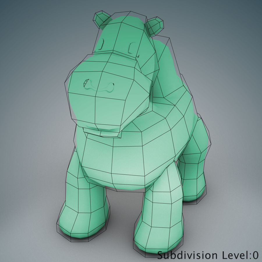Tolo Toys camel royalty-free 3d model - Preview no. 11