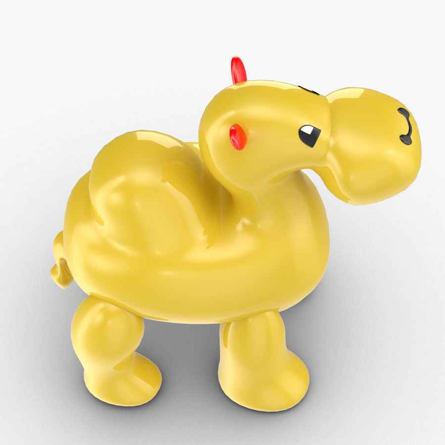 Tolo Toys camel royalty-free 3d model - Preview no. 9