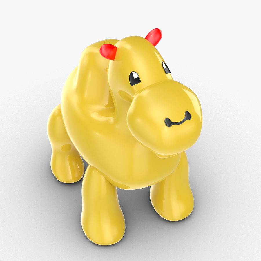 Tolo Toys camel royalty-free 3d model - Preview no. 2