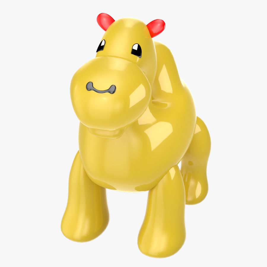 Tolo Toys camel royalty-free 3d model - Preview no. 1