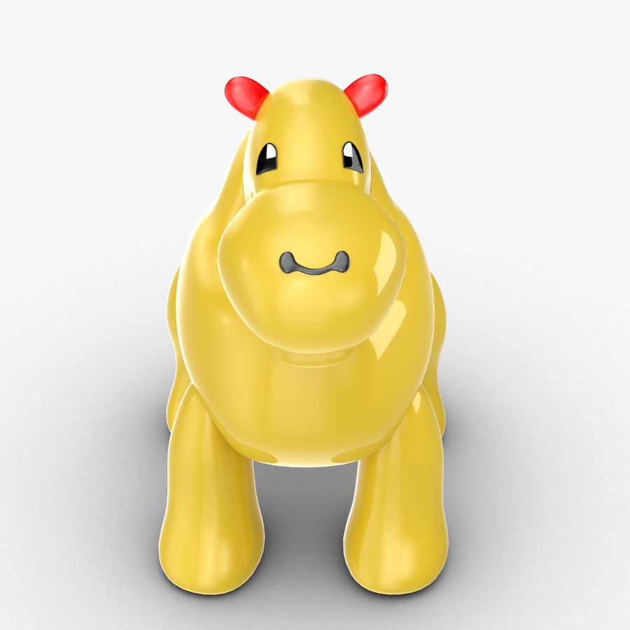 Tolo Toys camel royalty-free 3d model - Preview no. 8