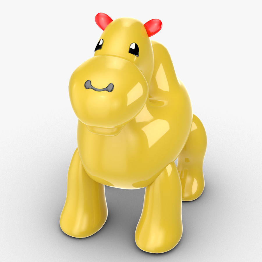Tolo Toys camel royalty-free 3d model - Preview no. 4