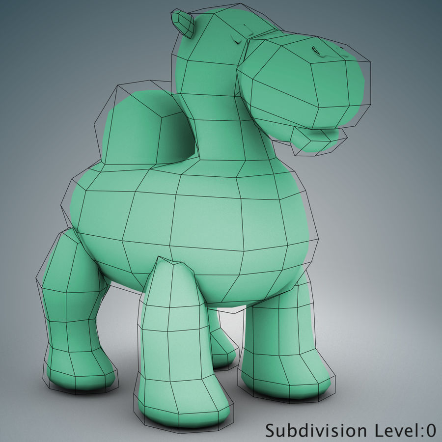 Tolo Toys camel royalty-free 3d model - Preview no. 19