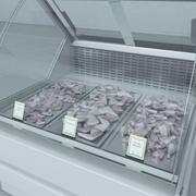 冷藏展示柜 3d model