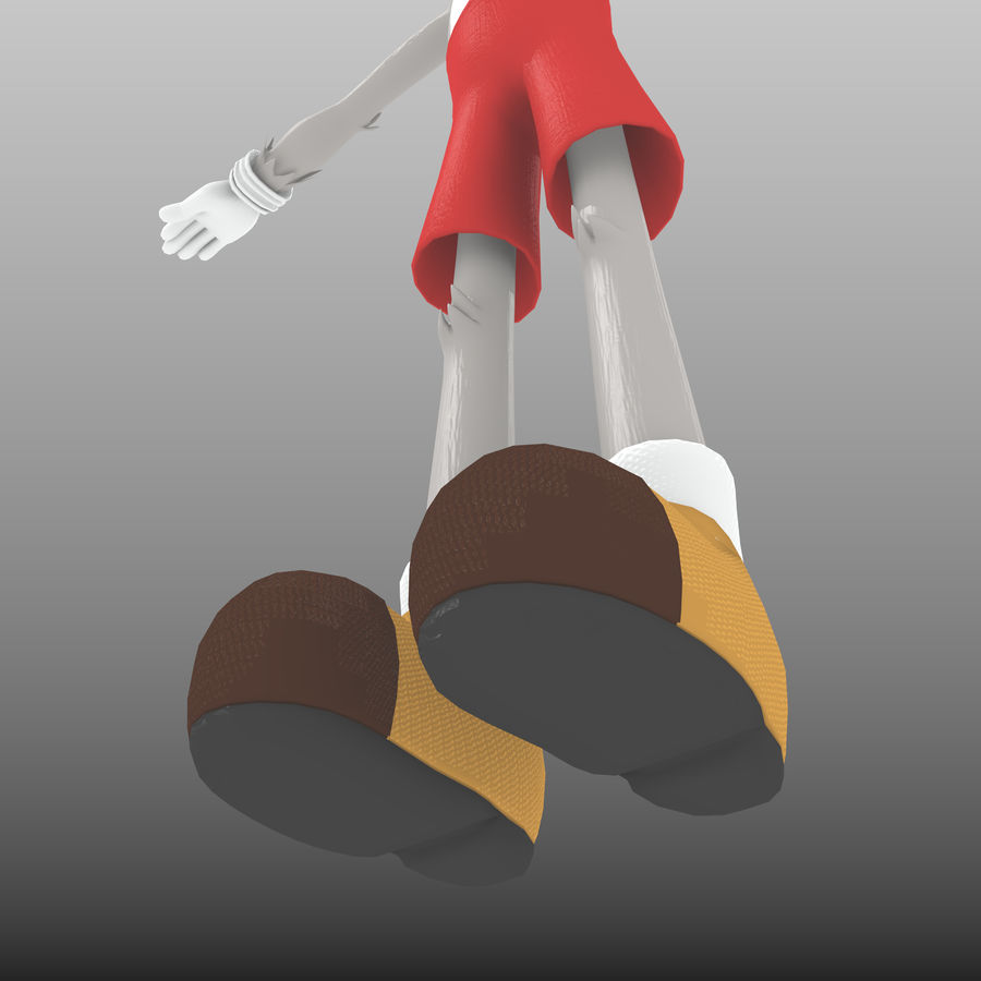 RoyRabbit - Cartoon Animal Character royalty-free 3d model - Preview no. 9