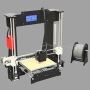 RiggedDIY Anet a8 3dprinter 3d model