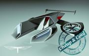 \\T// Copter Car 05 Scorpion 3d model