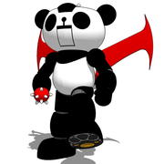 Panda Z 3d model