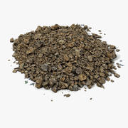 Realistic Soil Ground Surface 3d model