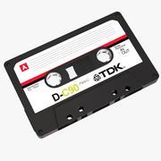 复古盒式磁带 3d model