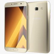 Samsung Galaxy A7 2017 guldsand 3d model