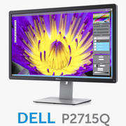 Dell 27 Ultra HD 4K Monitor P2715Q 3d model