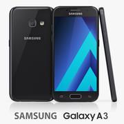 Samsung Galaxy A3 (2017) 3d model