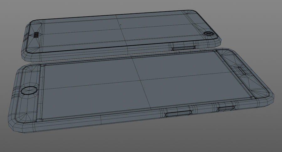 Telefono cellulare generico royalty-free 3d model - Preview no. 10