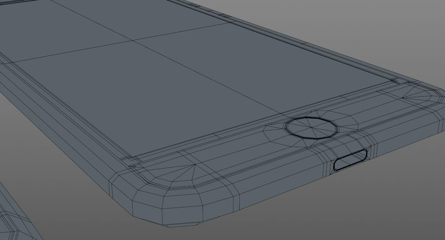 Telefono cellulare generico royalty-free 3d model - Preview no. 11