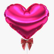 Balloon Heart (06) 3d model