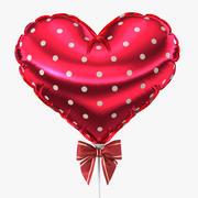 Balloon Heart (05) 3d model