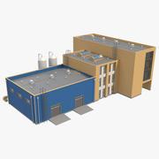 Edifício Industrial_06 3d model