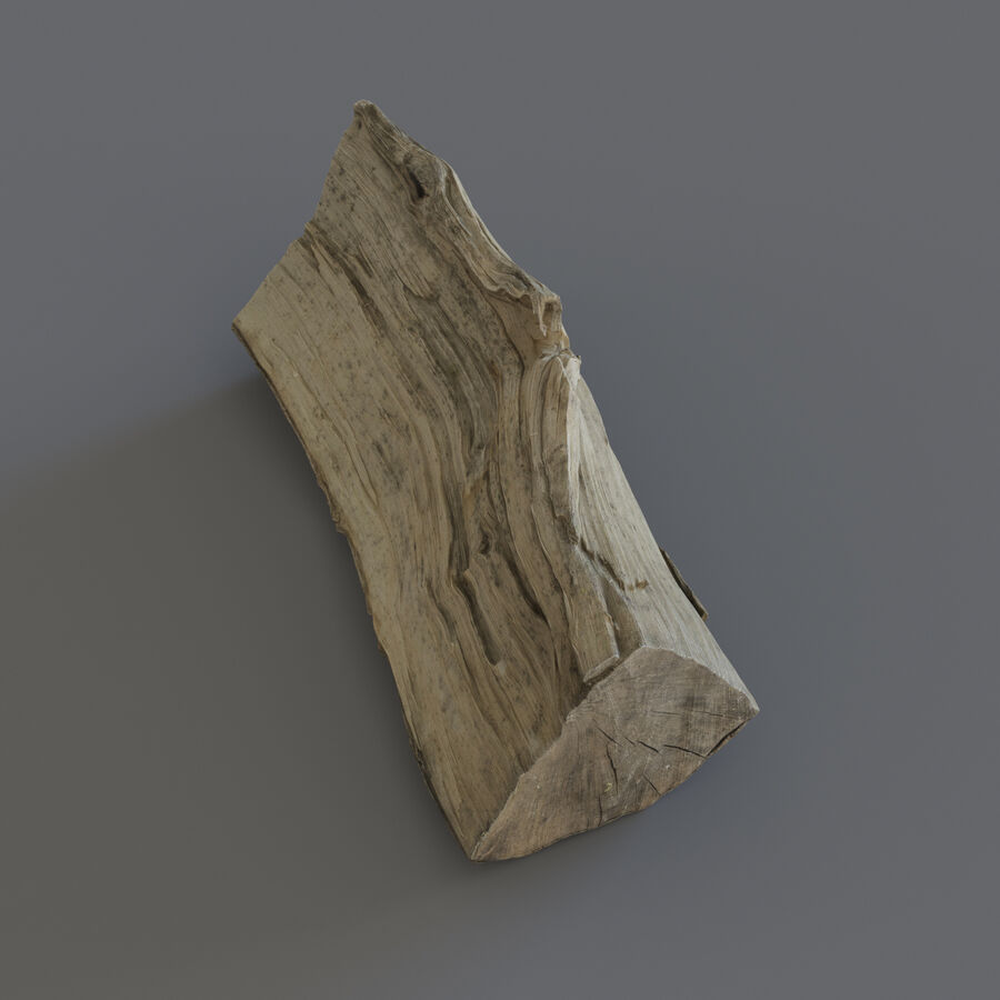 Wood Logs royalty-free 3d model - Preview no. 16