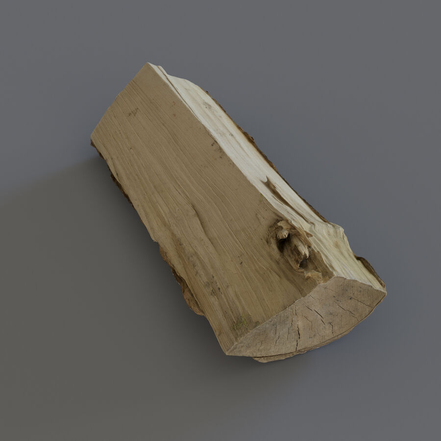 Wood Logs royalty-free 3d model - Preview no. 11