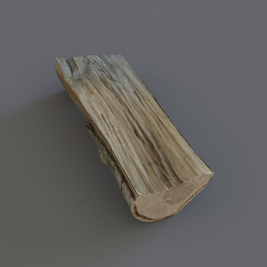 Wood Logs royalty-free 3d model - Preview no. 17