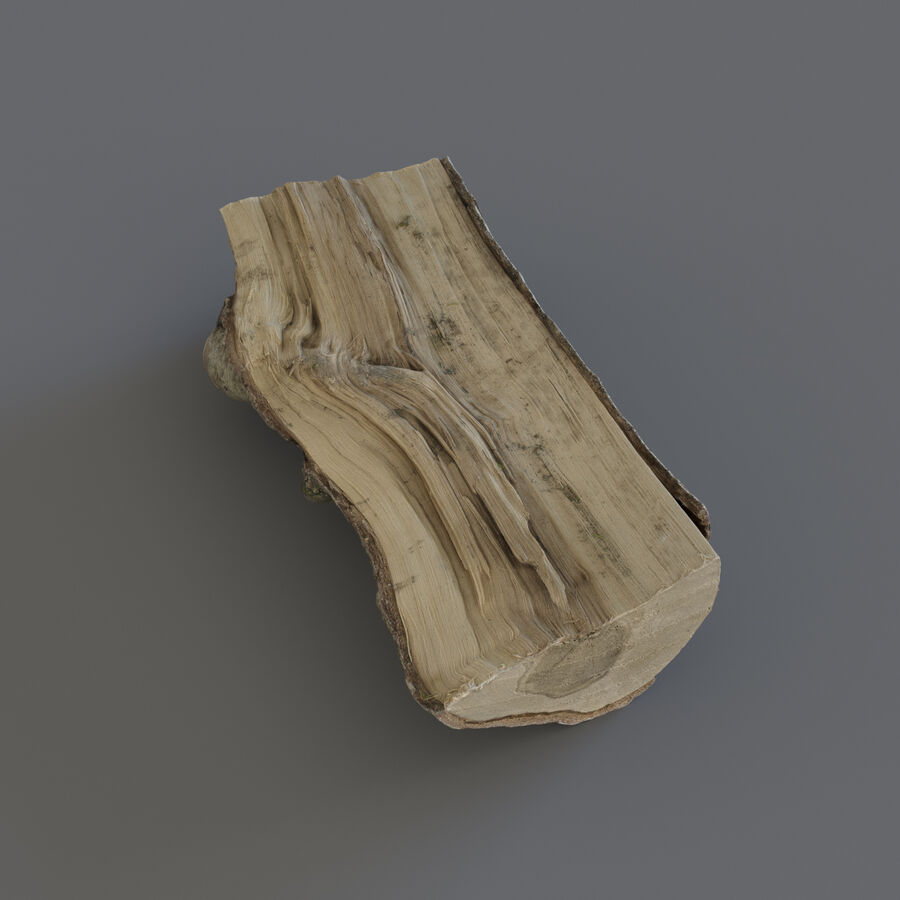 Wood Logs royalty-free 3d model - Preview no. 15