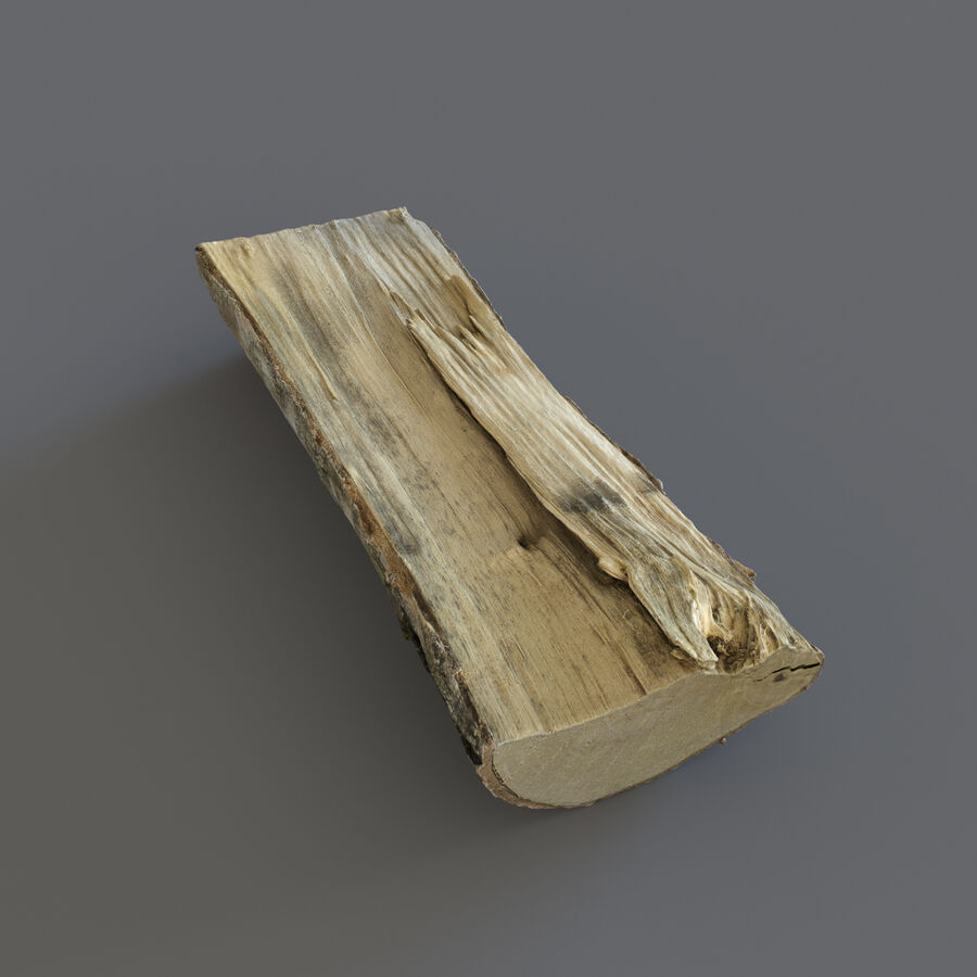Wood Logs royalty-free 3d model - Preview no. 12
