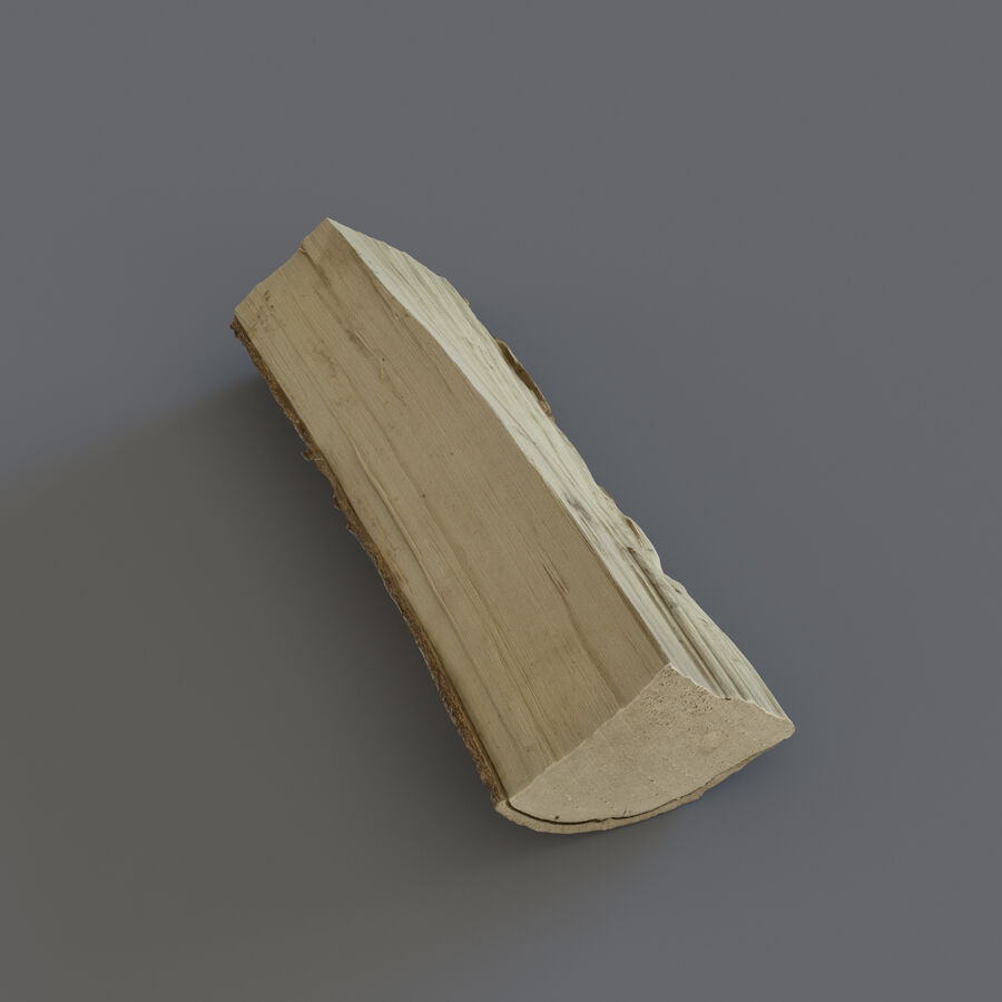 Wood Logs royalty-free 3d model - Preview no. 13
