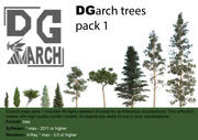 DGarch_trees_pack_1 3d model
