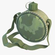 Военная столовая 3d model