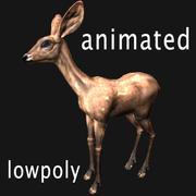 鹿(アニメーション) 3d model
