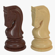 Chess Pieces- Knight 3d model
